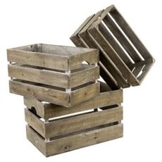 FIR CRATE, LARGE