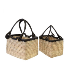 DATE LEAF BASKET, LARGE
