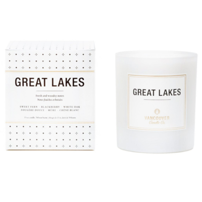 Vancouver Candle Co. VCC GREAT LAKES BOXED CANDLE, 13 OZ.