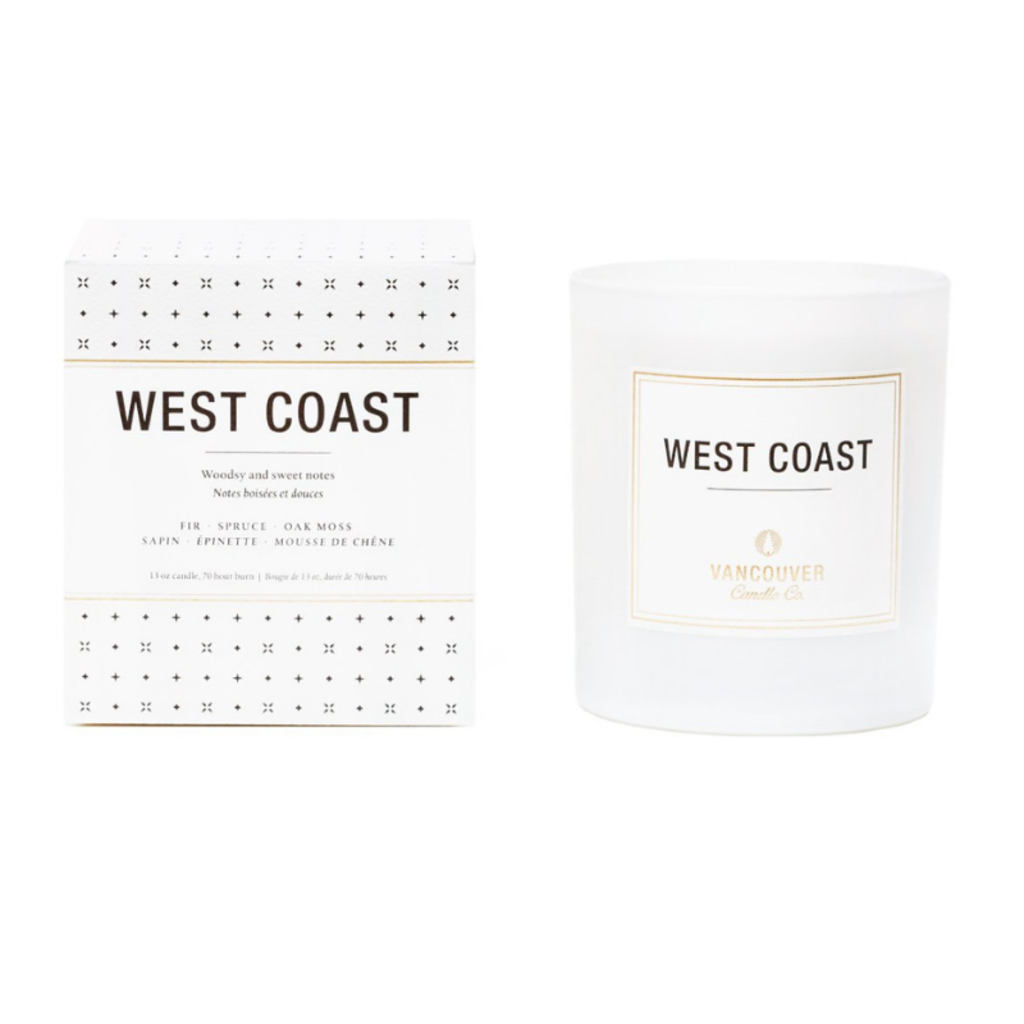 Vancouver Candle Co. VCC WEST COAST BOXED SCENTED CANDLE, 13 OZ