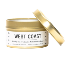 Vancouver Candle Co. VCC WEST COAST, TRAVEL CANDLE, FIR, SPRUCE, OAK MOSS