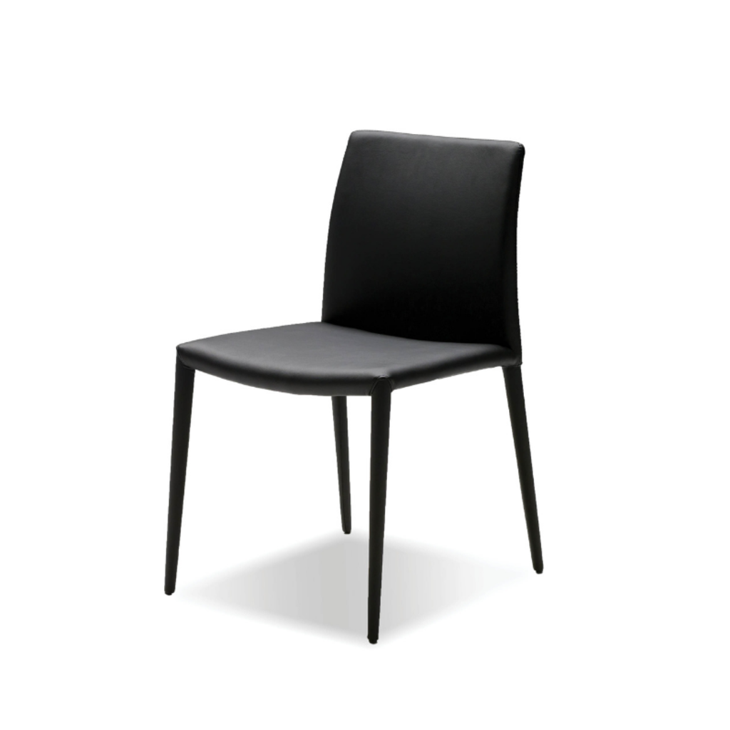 EZRA DINING CHAIR, BLACK