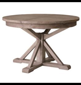 IRISH COAST ROUND EXTENSION TABLE, SUNDRIED