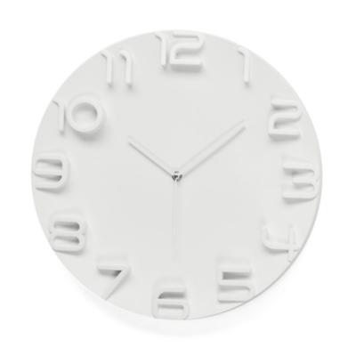 SONOMA WALL CLOCK, WHITE