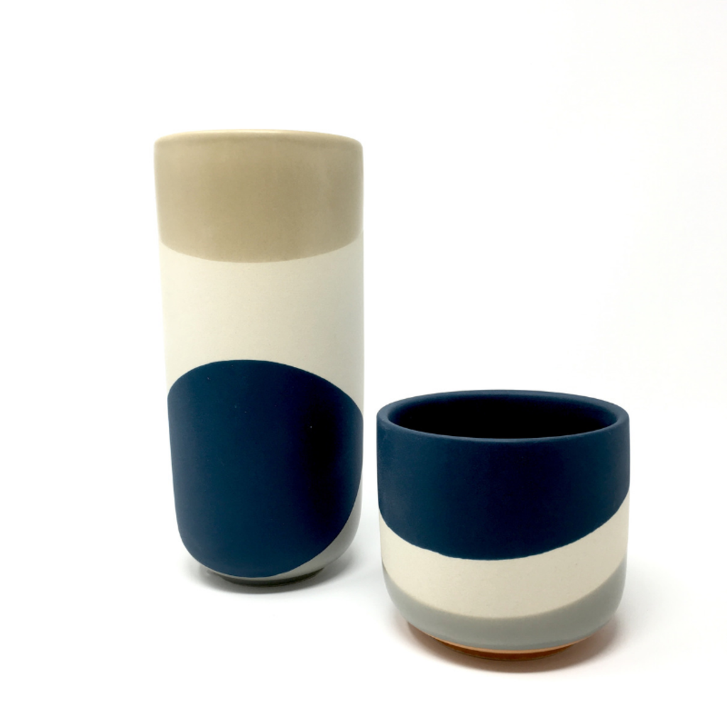 COLORWAY POT NAVY, SMALL