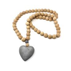 HEART PRAYER BEADS, LARGE