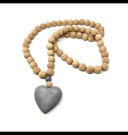 HEART PRAYER BEADS, LARGE