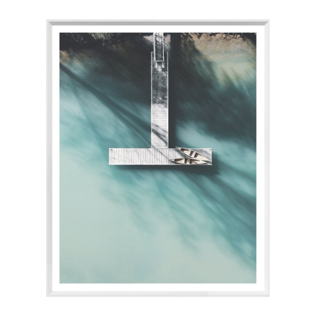 TURQUOISE SUMMER WALL ART, SMALL