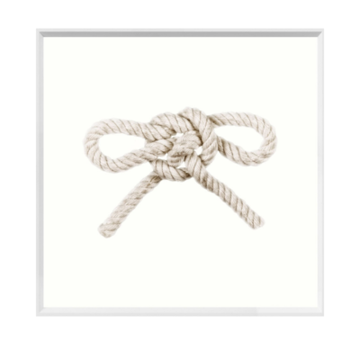 TOM FOOL KNOT FRAMED ART, SMALL