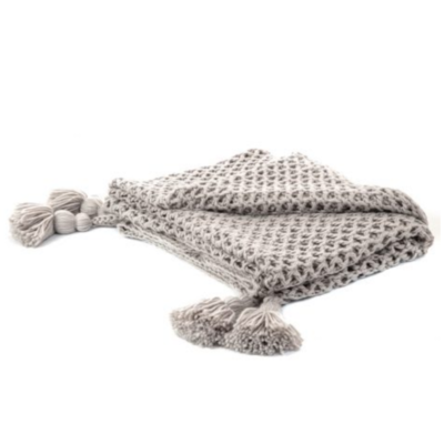 Brunelli SHIVA GREY THROW