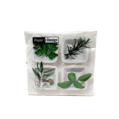 CULINARY HERBS, DINNER NAPKINS