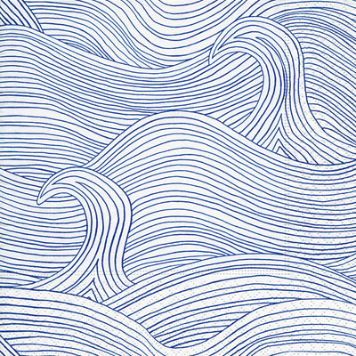 WIND WAVES NAPKINS