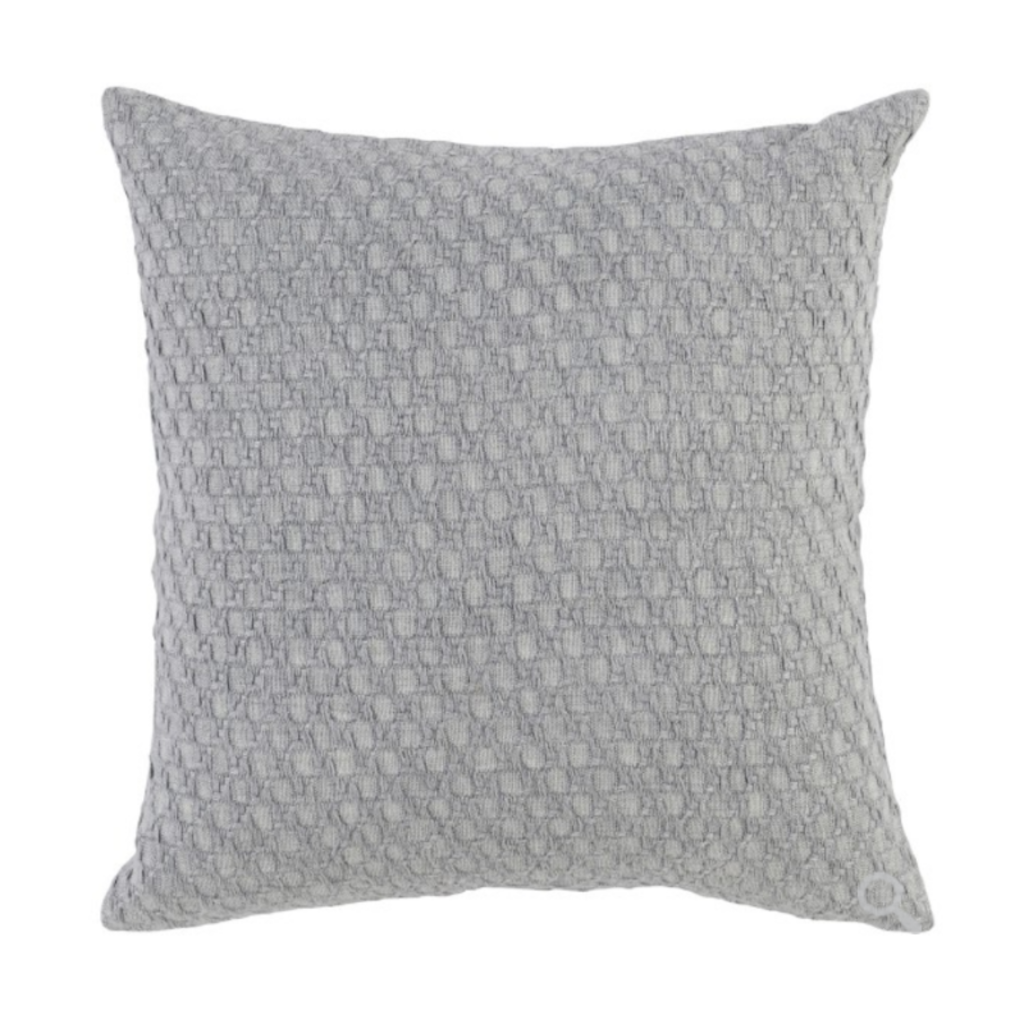 Classic Home JULIA PILLOW, GREY 22 X 22""