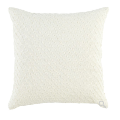 Classic Home JULIA PILLOW, IVORY, 22 X 22""