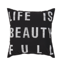 Surya (RSC Inc.) LIFE IS BEAUTY FULL PILLOW