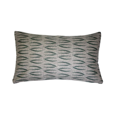"LUONTO EKA PILLOW, GREEN, 12""x19"""