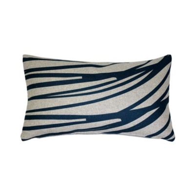 "Pillow Decor LUONTO PILLOW, BLUE, 12""x19"""