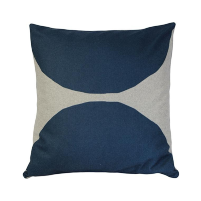 """Pillow Decor LUONTO KIVI PILLOW, BLUE, 22""""x22"""""""