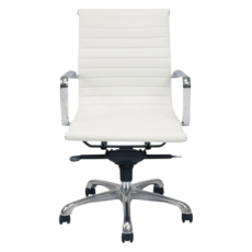 OMNI OFFICE CHAIR, WHITE, LOW BACK
