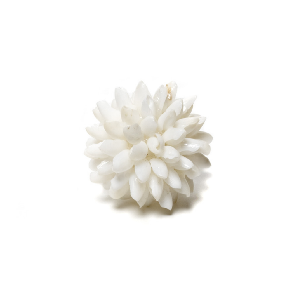 BUBBLE SHELL BALL MINI, WHITE, 2""
