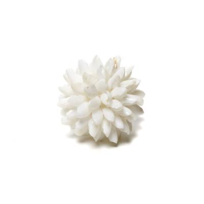 "BUBBLE SHELL BALL MINI, WHITE, 2"""