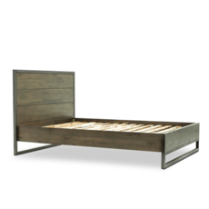 PARK QUEEN BED, ESPRESSO FINISH