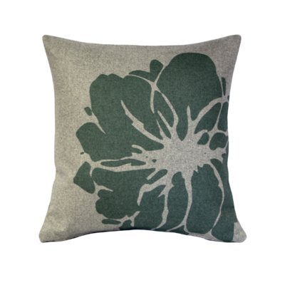 Pillow Decor LUONTO LILY GREEN PILLOW, 19 X 19""