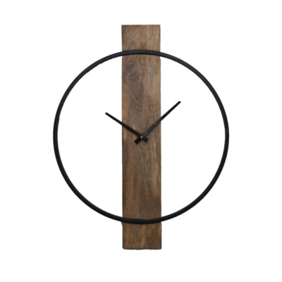 PEARL MANGO WOOD CLOCK