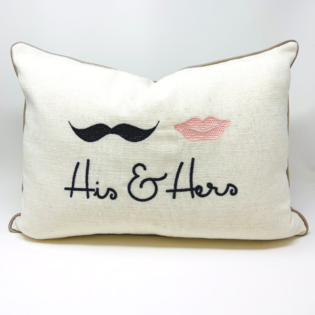 Canfloyd HIS & HERS PILLOW