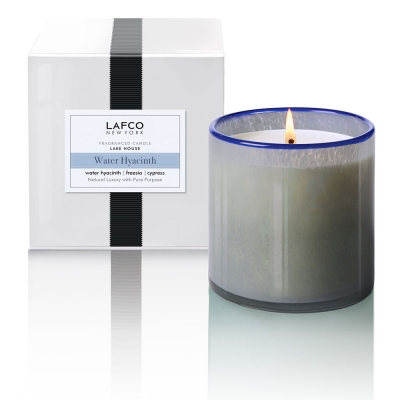 Lafco LAFCO WATER HYACINTH 15.5OZ SCENTED CANDLE
