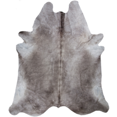 HILDEN COWHIDE RUG, NATURAL GREY TONES