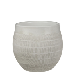 Modus Lifestyle VINCENT POT, OFF WHITE, LARGE
