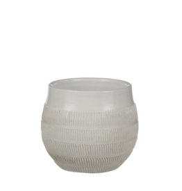 Modus Lifestyle VINCENT POT, OFF WHITE, MEDIUM