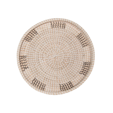 Style in Form VINA WALL TRAY, NATURAL 16""