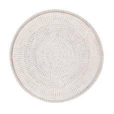 Style in Form VINA WALL TRAY, WHITEWASH 22""