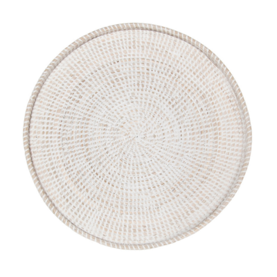 """Style in Form VINA WALL TRAY, WHITEWASH 22"""""""
