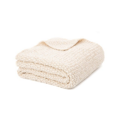 Brunelli CHUNKY NATURAL THROW