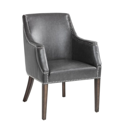 CALVARY ARM CHAIR, ASH GREY