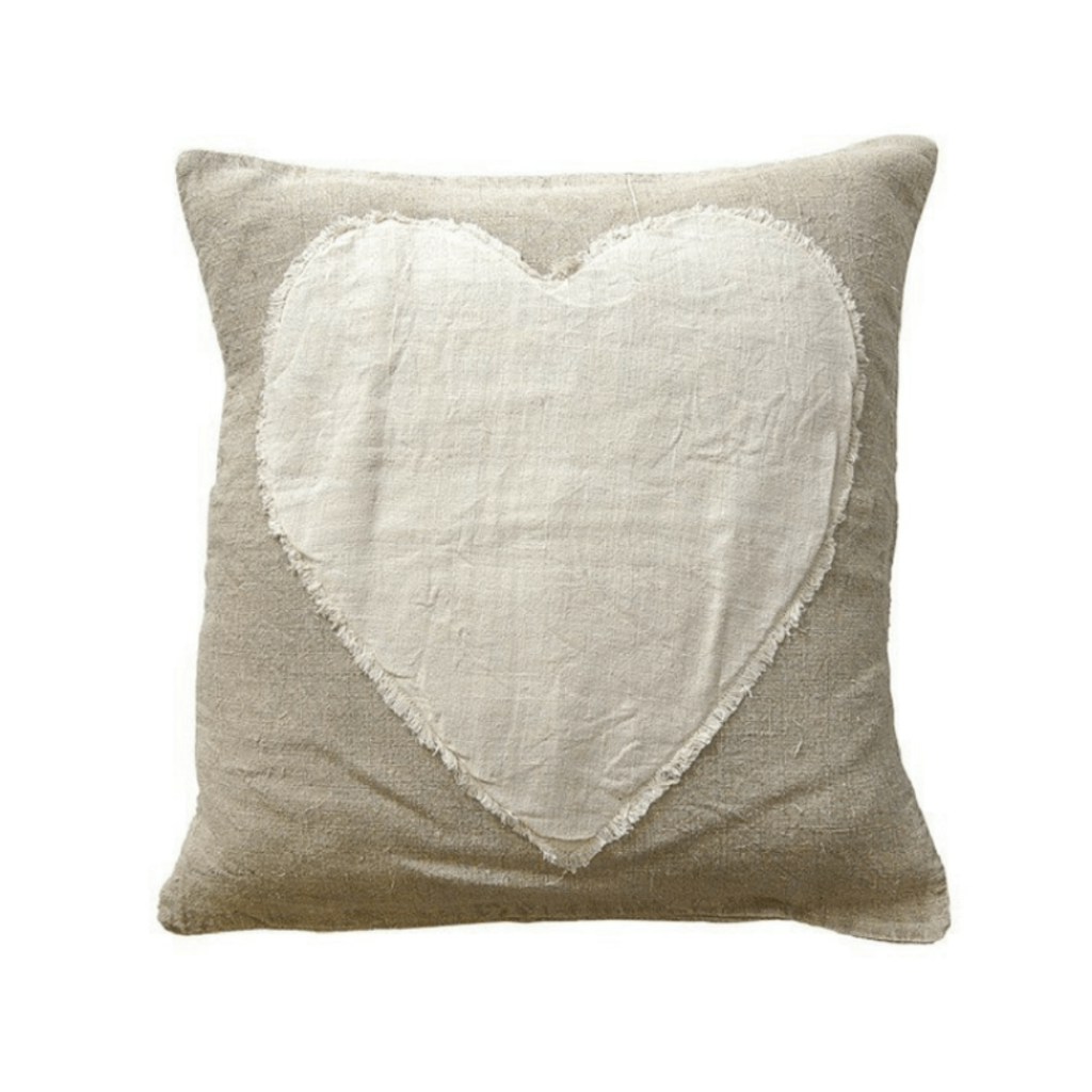 SugarBoo HEART STITCHED PILLOW