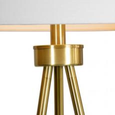 INSPIRED FLOOR LAMP, ANTIQUE GOLD