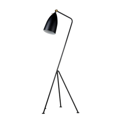 STICKLEY FLOOR LAMP, MATTE BLACK