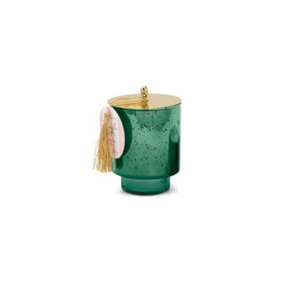 DEEP GREEN MERCURY GLASS, CRANBERRY PINE, 12 OZ