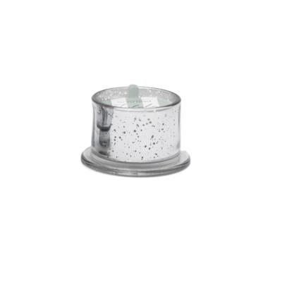 SILVER MERCURY GLASS CANDLE, BALSAM FIR, 4.5 OZ