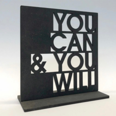 Dundee Designs YOU CAN, YOU WILL STAND UP NOTECARD
