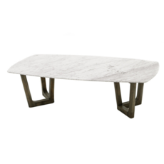 AURORA COFFEE TABLE, MARBLE TOP