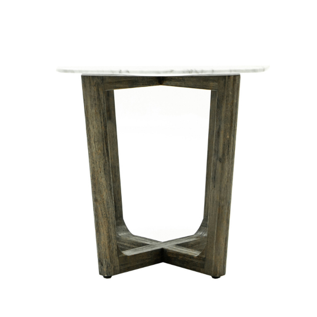 AURORA SIDE TABLE, MARBLE TOP