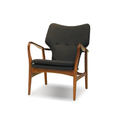 IMOGEN CHAIR, WALNUT FRAME