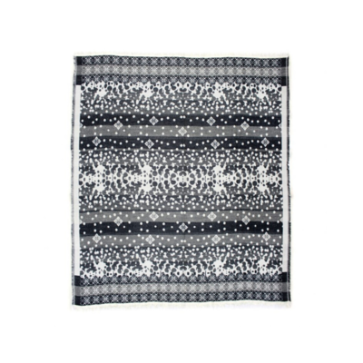 ALFRESCO THROW, LIGHT GREY