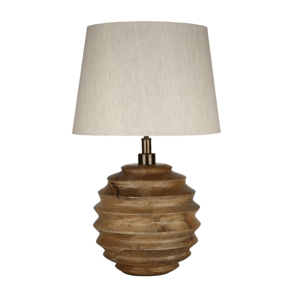 NATURAL LAMP, MANGO WOOD