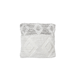 Style in Form BOHEMIAN MACRAME PILLOW, BOMBAY